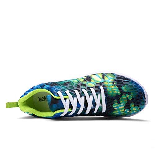 Dannto Herren Damen Laufschuhe für Damen Sportlich Leichte Wanderschuhe Grün