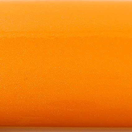 Peel Stick Backsplash Solid Orange Pearl Contact Paper Self Adhesive Wallpaper Shelf Liner Table