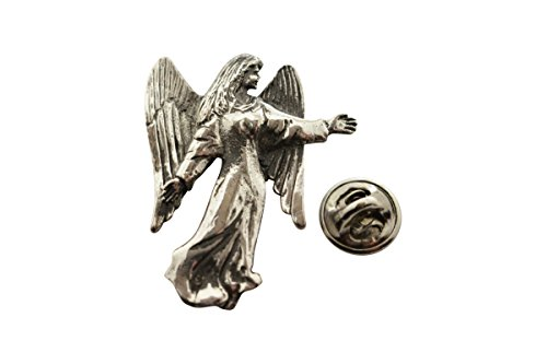 - Angel Pin ~ Antiqued Pewter ~ Lapel Pin ~ Sarah's Treats & Treasures