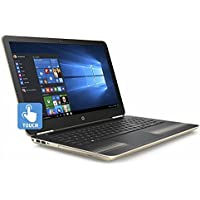 HP Pavilion High Performance Premium 15.6 Touchscreen Laptop, Intel Core i5-6200U, 8GB DDR4 RAM, 1TB HDD, DVD, Bluetooth, HDMI, 802.11AC Wi-Fi, HD Webcam, Windows 10-Gold