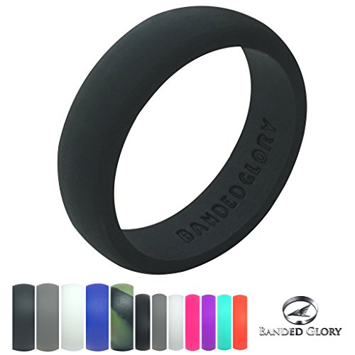 Silicone Wedding Rings Banded Glory