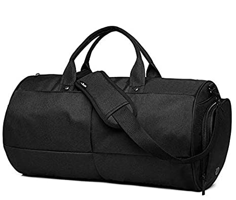 a2209609fc94 Image Unavailable. Image not available for. Color  Canvas Sport Gym Bag  Training Bag Men Woman Fitness Yoga Travel Multifunction Handbag ...