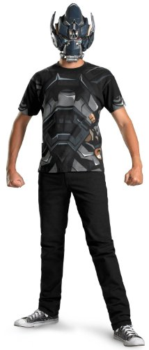 Transformers - Iron Hide Adult Costume Kit Size Standard/Plus (42-52) (Adult Transformers Costume)