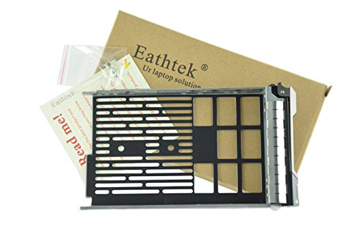 (Eathtek Replacement 3.5 SAS SATA Tray Caddy Sled F238F 0F238F X968D 0X968D G302D 0G302D for Dell Poweredge T710 T610 T410 T310 T420 T320)
