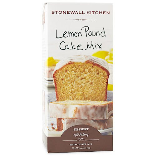 Stonewall Kitchen Lemon Pound Cake Mix, 19 Ounce Box ()