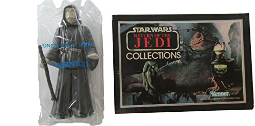 Star Wars Kenner 1983 Vintage Action Figure the Emperor in Promotional Mailer Box and Bag MIB (Kenner Action Figures compare prices)