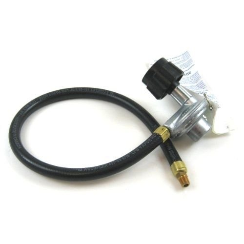 BBQ Tools & Accessories Weber QCC1 Gas Grill 21'' Hose and Regulator NPT 65570 Male Thread Connection