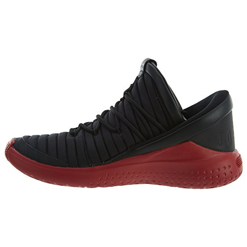Jordan Luxe Shoe Black high Basketball Nike Men's Ankle Red gym Flight Fabric Aa6wx6