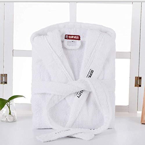Casa Pigiama Per 100 Xqy Accappatoio Tasche La In Confortevole Cotone Sezione Acquista Pi Cappello Con IO5OwxqvE
