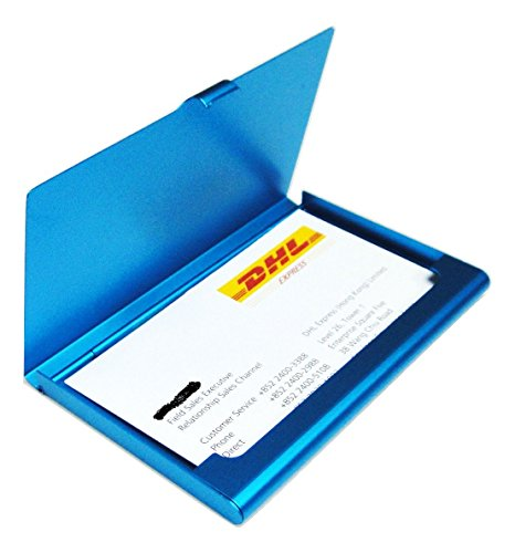 Aluminum Business Card Box - 9