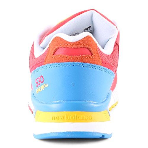 New Balance W530pim - Zapatillas Mujer Rojo / Azul / Amarillo
