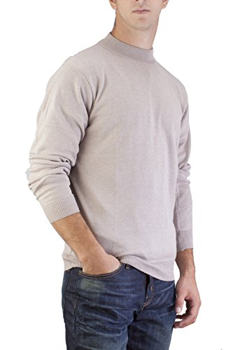 83c976e99452aa Alberto Cardinali Men's Mock Neck Sweater - Buy Online in UAE ...
