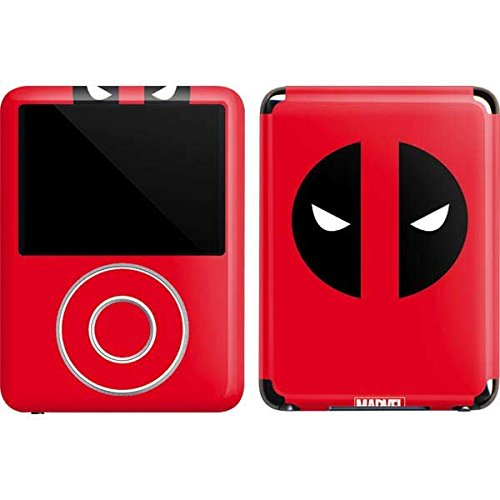 Marvel Deadpool iPod Nano (3rd Gen) 4GB&8GB Skin - Deadpool Logo Red Vinyl Decal Skin For Your iPod Nano (3rd Gen) 4GB&8GB