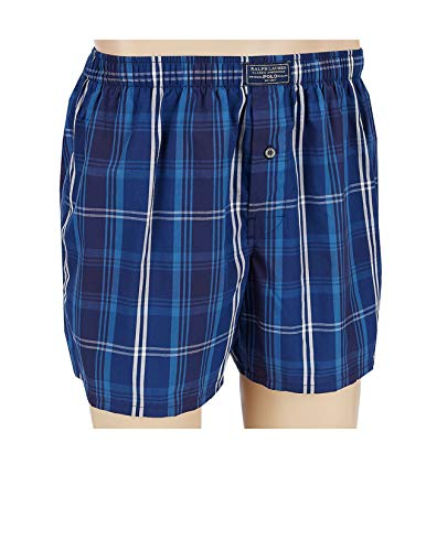 Polo Ralph Lauren Classic Woven Printed Boxer (Medium, Jones Plaid)