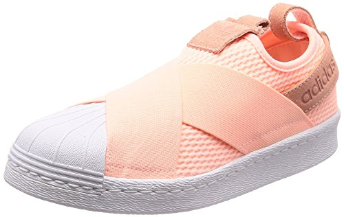 Naranja W on Slip Superstar 000 Fitness adidas Shoes Orange Women's qp8wU