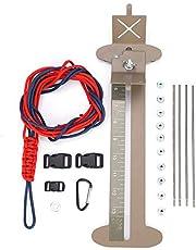 Dioche DIY Pulsera Paracord Jig, Herramienta Fabricante de Paracord Pulsera Hebillas Trenzado de Cuerdas con Hebillas Libres