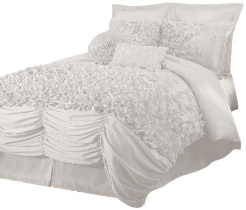 Lush Decor Lucia 4-Piece Comforter Set, King, (Lucia Comforter Set)