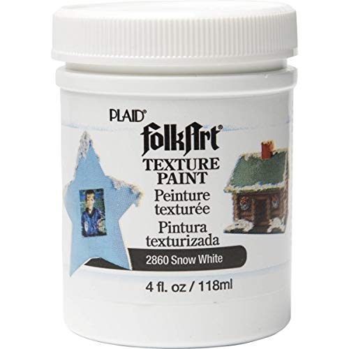 Price comparison product image FolkArt Texture Paint in Assorted Colors (4 Ounce),  2860 White