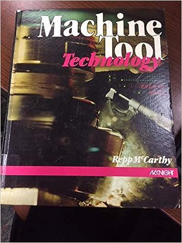 Machine Tool Technology Victor E Repp 9780873451635 Amazon Com Books