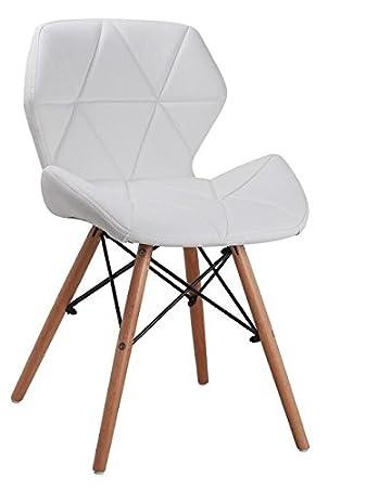All4all Design Stuhl Esszimmerstuhl Bürostuhl Stuhl Esszimmer Esstisch  Stühle Stuhl Kunstleder Gepolsterter Essgruppe Moderne Essplatz Essgruppe