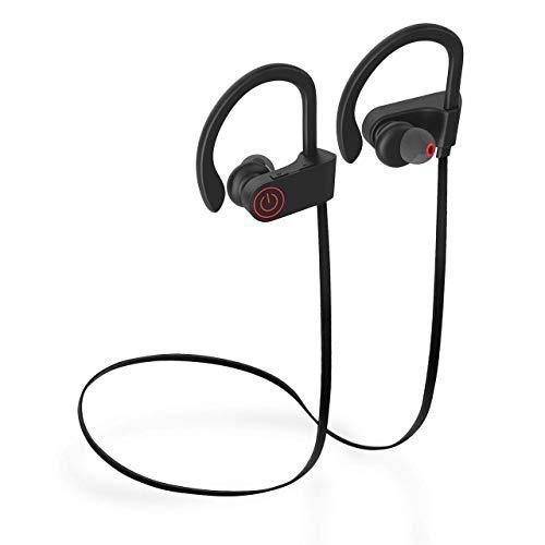 Earbuds Earphones Headphones,Bluetooth Earbuds Waterproof IPX7, Wireless Ear Buds HiFi Stereo in-Ear Earphones w/Mic, Noise Cancelling Headsets (Comfy & Fast Pairing) …