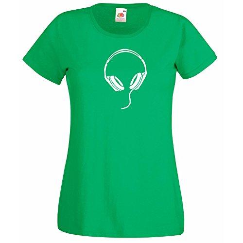 fruit Fans Super Cadeau T Femme Design shirt Homme pop Chemises T Maison shirt musique Premium Rock Trance Avec Of Chanson The Chill Rnb Vert Pour En Loom Casque Auditeur Gratuit 7qnY7avf
