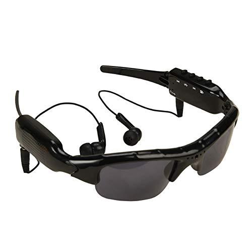 Gafas de Sol Auriculares Auriculares Bluetooth Música inalámbrica Gafas de Sol Auriculares compatibles con Todos los...