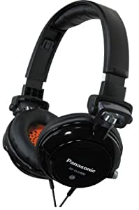 Panasonic RPDJS400K DJ Street Model Headphones (Black)