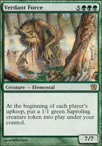 Magic: the Gathering - Verdant Force - Ninth Edition from Magic: the Gathering