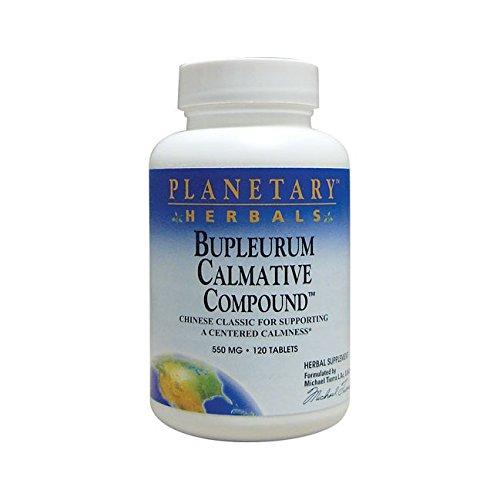 Planetary Herbals Bupleurum Calmative Compound, 120 Tabs