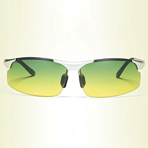 para Conducción Hombre Gafas de DT Pesca de Gafas Gafas Sol de Pesca 2 Nocturna High Visión Gafas polarizadas Anti Color Beam Conductor Light XqtFwxdEw