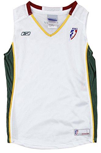 - Seattle Storm WNBA Big Girls Home Replica Jersey - White (Small (7/8))
