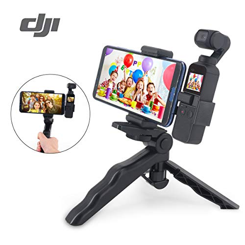 OSMO Pocket Tripod Camera Stand - for DJI OSMO 2 in1 Handheld Holder & Camera Tripod Holder Foldable Tripod Bracket Stand for OSMO Pocket Handheld Camera Expansion Accessories Kit for ()