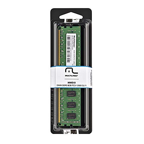 Memoria Desktop Multilaser DDR3 8GB MM810