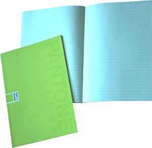 Pantone Ruled Note Book, A5, 24 Sheets, Sulphur Spring, Pack of 5 (50195-88977-1)