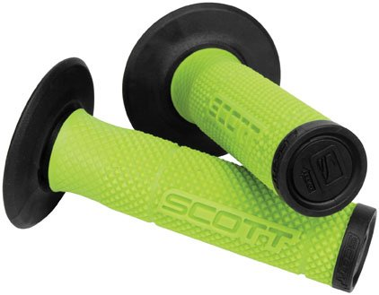 Scott USA SX II MX Grips - Green/Black