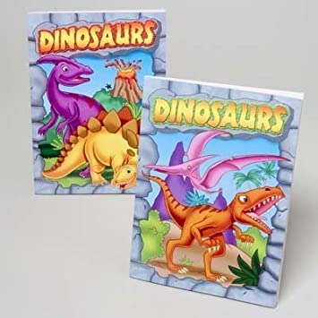 Amazon.com: Bulk Dinosaurs Coloring Book Case Pack 24 Kids ...