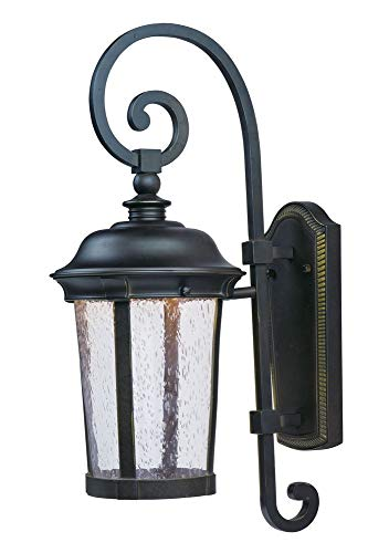 Maxim Lighting 55023CDBZ Mount Dover LED Outdoor Wall Lantern