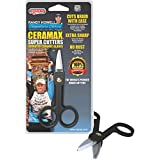 RIGRAPNEW! CERAMAXx SUPER CUTTER - Cuts Braid With Ease!,Compact and Convenient,Black and White