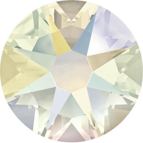 - 2000, 2058 & 2088 Swarovski Flatback Crystals Non Hotfix Crystal Shimmer   SS16 (3.9mm) - Pack of 50   Small & Wholesale Packs