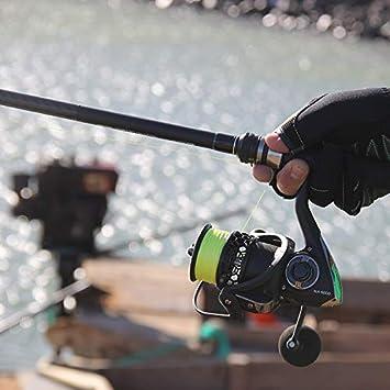 FISHYY Caña De Pescar Caña De Pescar De Lubina 2.4M MF Action ...