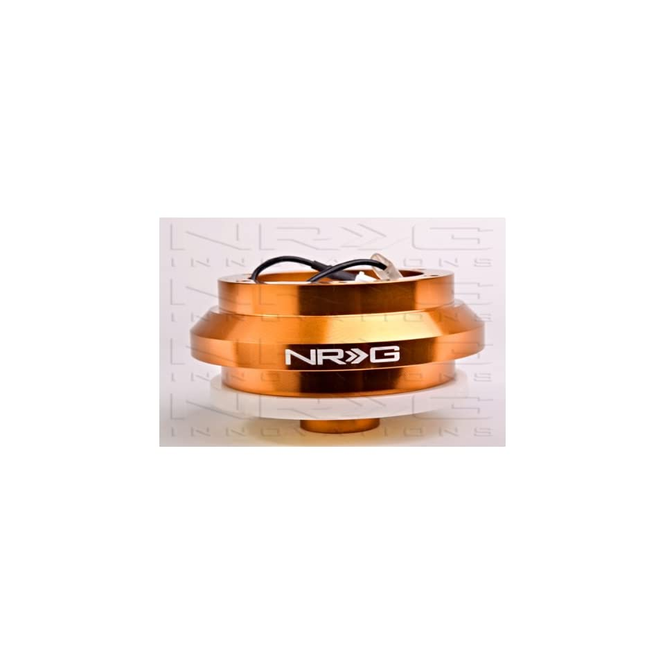 NRG Short Steering Wheel Hub Adapter (Boss) Kit   Honda Del Sol ALL   Rose Gold   New   Part # SRK 110H RG2