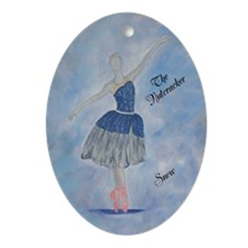 [CafePress - Snow (The Nutcracker) - Oval Holiday Christmas Ornament] (Holiday Recital Costumes)