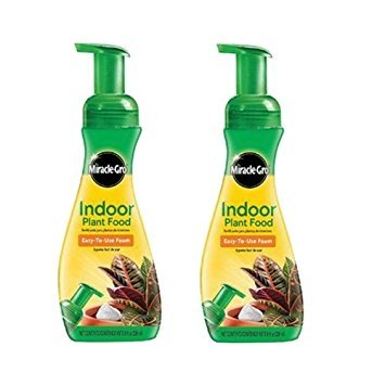 Miracle-Gro Indoor Plant Food, 8-Ounce (Plant Fertilizer) (2 Pack) by Miracle-Gro