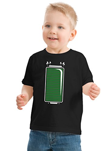 Full Battery | Funny Matching Family (Empty Charge Parents) Kids' T-shirt