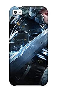 Ryan Knowlton Johnson's Shop 4846745K94504232 High Quality Shock Absorbing Case For Iphone 5c-metal Gear Rising Revengeance