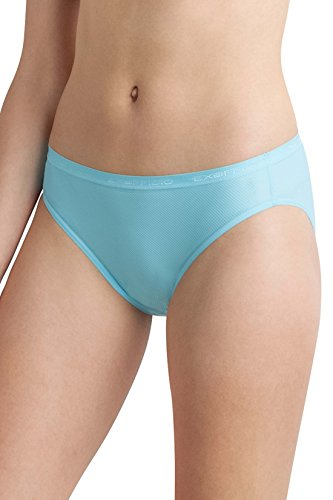 ExOfficio Women's Give-N-Go Bikini Mesh Brief, Blue Ice, Medium