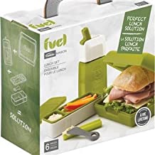 Trudeau Fuel 6 Piece Lunch Set