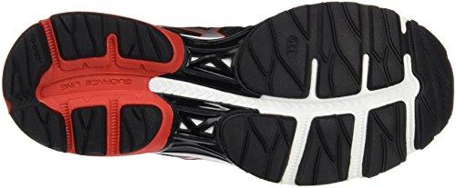 Asics Gel-Pulse 8, Scarpe da Corsa Uomo Multicolore (Black/Vermilion/Silver)