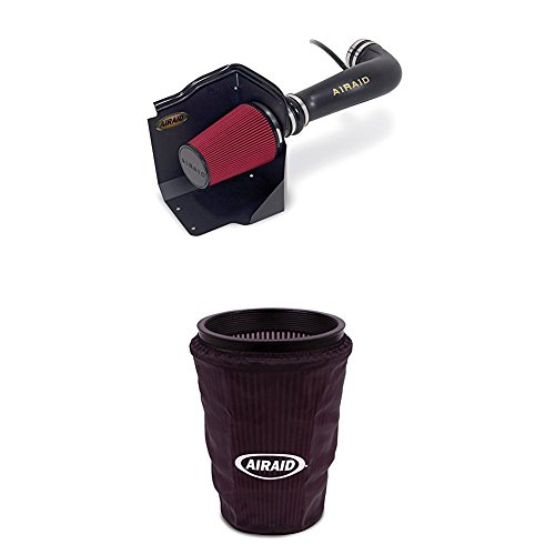 Airaid 200-197 Performance Air Intake System with Black Air Filter Wrap